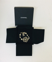 Used Chanel Camellia and Faux Pearl Bracelet in Dubai, UAE