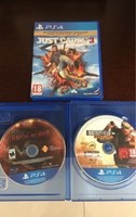 Used 3 PS4 Games in Dubai, UAE