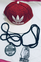Used Original Adidas Cap and Swag Necklace  in Dubai, UAE