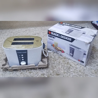 Used Black&Decker 2 Slice Cool Touch Toaster in Dubai, UAE