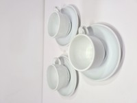 Used Cups with Saucers 3 pcs in Dubai, UAE