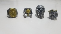 Used 4 gothic riders rings in Dubai, UAE