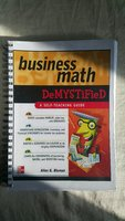 Business Math Demystified Guide Book