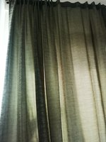 Used Pair of curtains with sheer fabric in Dubai, UAE