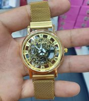 Magnet skelton high quality watch