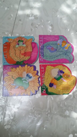Used Set of 4 Glitter Books for Girls in Dubai, UAE