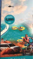 Used Tour package vouchers buy one get one  in Dubai, UAE