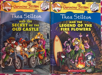 Used Thea Stilton books set of 2 in Dubai, UAE