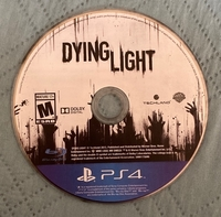 Used Ps4 Dying Light - No case in Dubai, UAE
