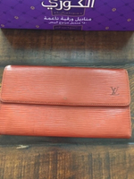 Used Authentic Preloved LV long wallet in Dubai, UAE