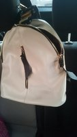 Bagpack leather style..