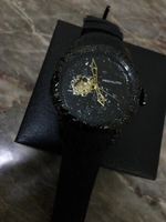 Used Megalith sculpture watch black color  in Dubai, UAE