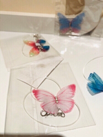 Used Cute Butterfly 🦋 Choker necklaces 2pcs in Dubai, UAE
