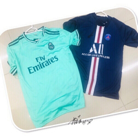 Used 2 Men's Jersey set  M/L 💙 in Dubai, UAE