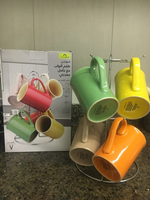 Used 5 mugs with hanger  in Dubai, UAE