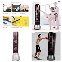 Used Inflatable boxing bag  in Dubai, UAE