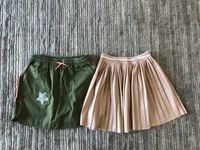 Used 2 skirts size 8/9 years old in Dubai, UAE