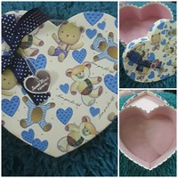 Used LOVELY HEART STORAGE BOX... in Dubai, UAE