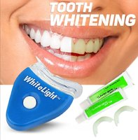 Theeth whitening gel with light