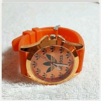 Used Brand New orange Adidas Watch for her in Dubai, UAE