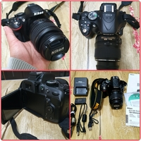 Used Nikon DSLR Camera D5200 in Dubai, UAE
