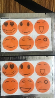 Used Mosquitoes smileys stickers(15 aed) in Dubai, UAE