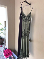 Used Evening dress in fine voile. in Dubai, UAE