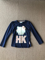 Used Hello Kitty T-shirt for a girl 7-8   in Dubai, UAE