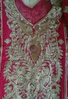 Beautiful embroided suit