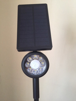 Used Solar rotating spotlight Lamp	Elimi29206 in Dubai, UAE