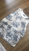 Sparkly floral top from M&Co
