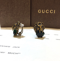 Brand New Gucci Clip Earrings With Box