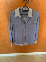 Used shirt blue from reserved in Dubai, UAE