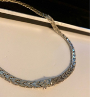 Used Silver necklace  in Dubai, UAE