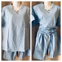 Used Top and shorts size 3XL in Dubai, UAE