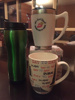 Used Air show hot flask +free hot flask+mug  in Dubai, UAE