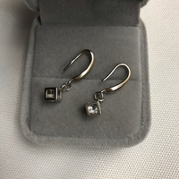 Used 925 silver pearl inbox design earrings  in Dubai, UAE