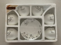 Used New 6 Cups & Saucer Set For Sale  in Dubai, UAE