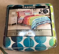Used New cannon king size quilt 6pcs set. in Dubai, UAE