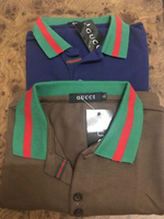 Used 2 pcs Gucci Inspired Polo shirt 👕XL ❤️ in Dubai, UAE