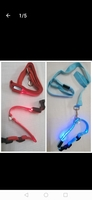 Used Safety Dog Pet Comfort Collar LED 2 pcs in Dubai, UAE