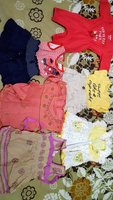 Used babies cloths 0-3 month(free gift also) in Dubai, UAE