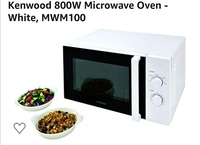 Used Kenwood 800W Microwave Oven - White, MWM in Dubai, UAE