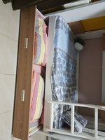 Used Bunk bed three beds with storage cabinet in Dubai, UAE