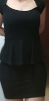 Used Bershka black dress used only once in Dubai, UAE
