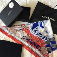 100%Authentic CHANEL SCARF 90x90 size Brand New Never Used