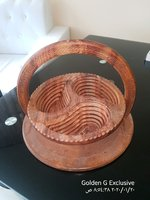Used Wood stylish Basket in Dubai, UAE