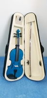 Used Violin with hard case- Blue in Dubai, UAE