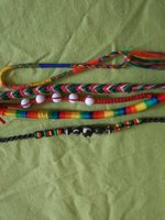 Used 6 handmade bracelets in Dubai, UAE