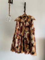 Used Vintage faux fur designer coat in Dubai, UAE